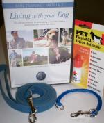 Living with your Dog DVD and Snap-Around Training Collar